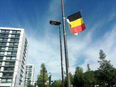 議員会館もベルギー国旗: 議員会館もベルギー国旗